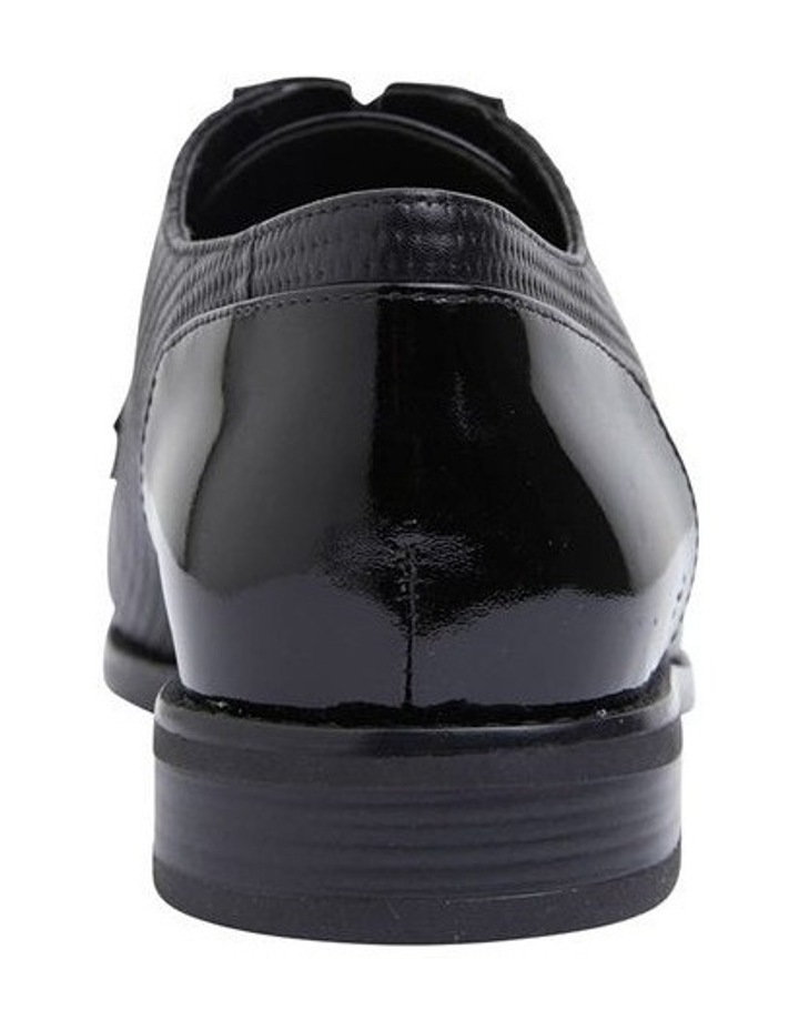 Panache Black Patent/Glove Flat Shoes image 5