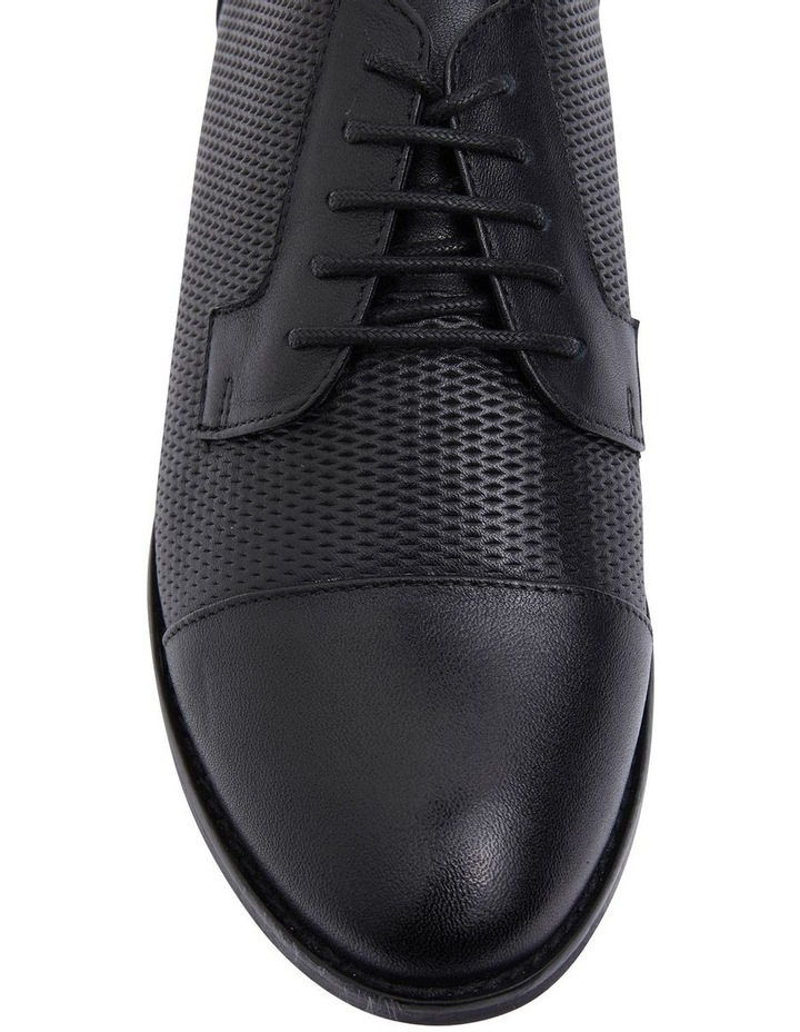 Panache Black Glove Flat Shoes image 4