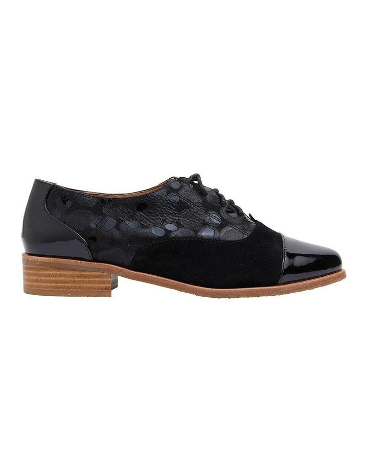 Shiraz Black Multi Flat Shoes image 1