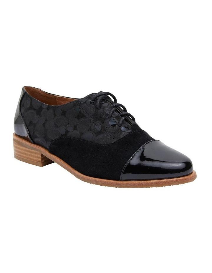 Shiraz Black Multi Flat Shoes image 2