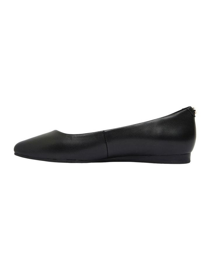 Laura Black Glove Flat Shoes image 2