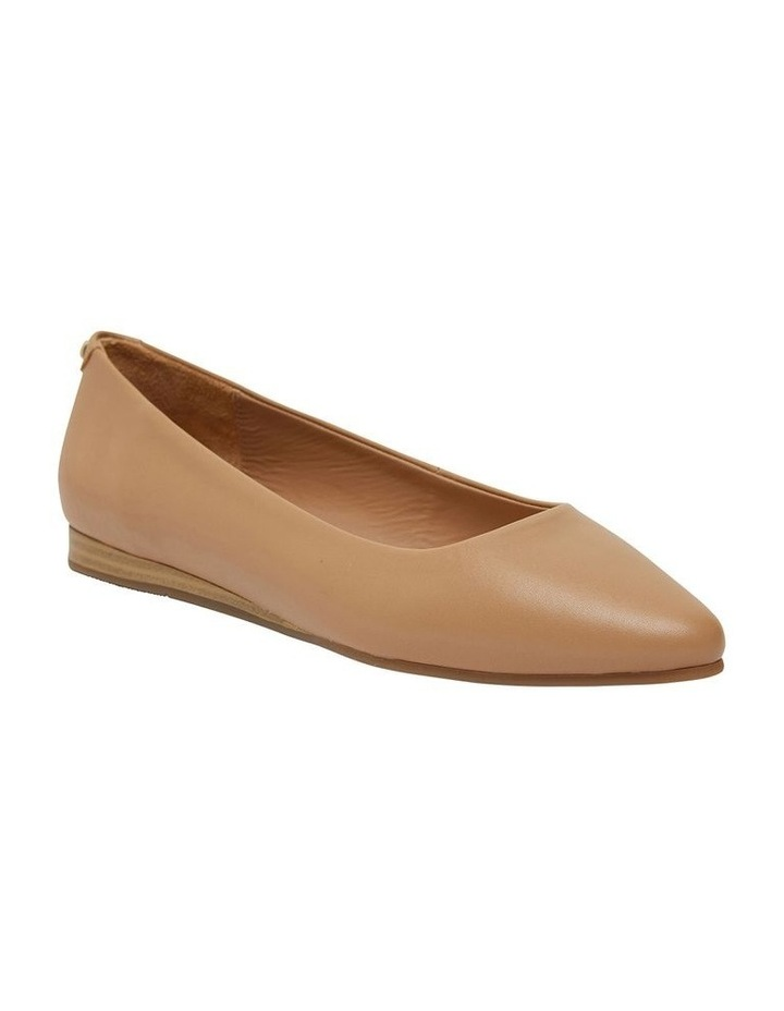 Laura Camel Glove Flat Shoes image 1
