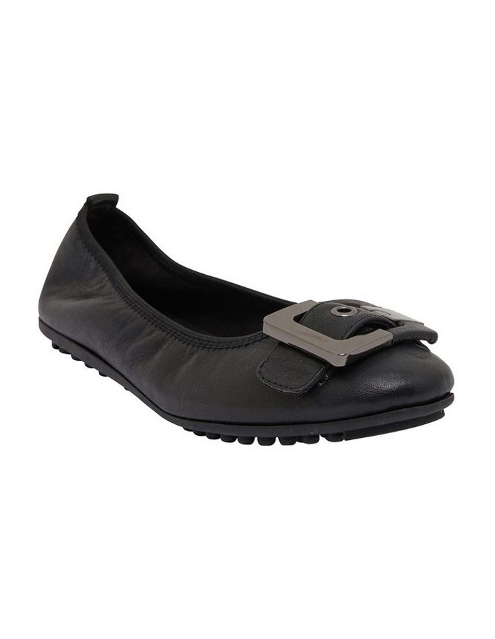 Pentagon Black Glove Flat Shoes image 2