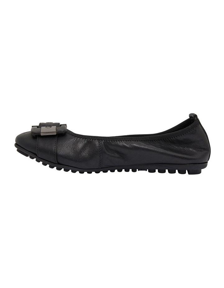 Pentagon Black Glove Flat Shoes image 3