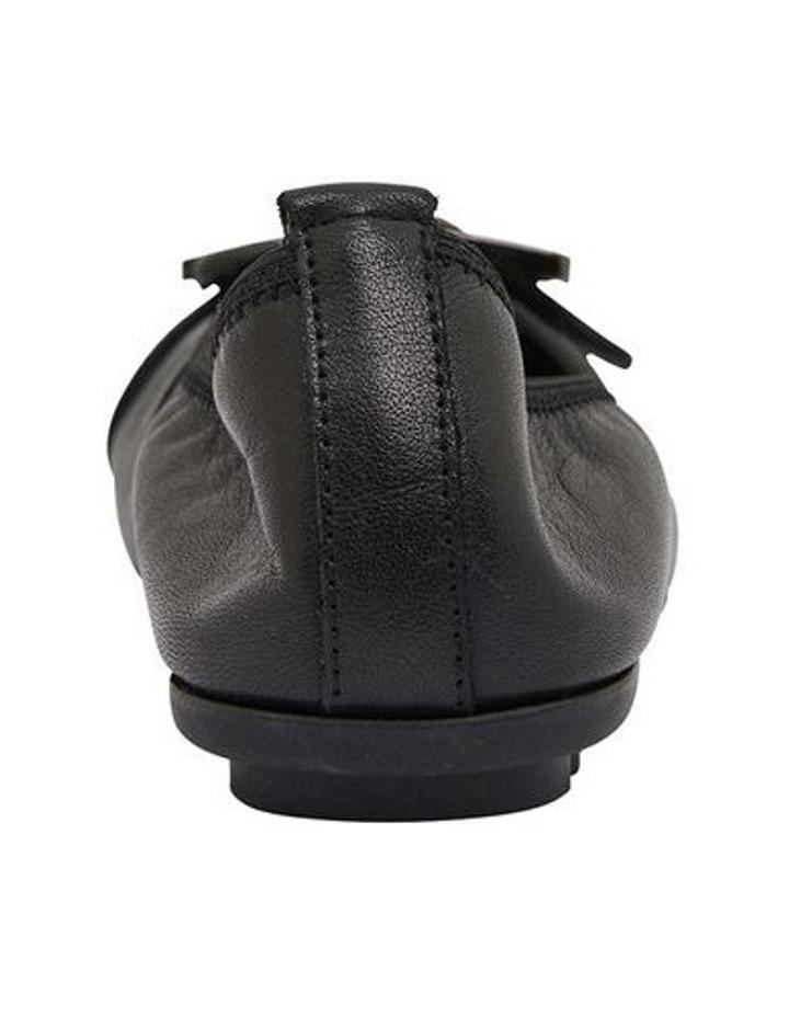 Pentagon Black Glove Flat Shoes image 5