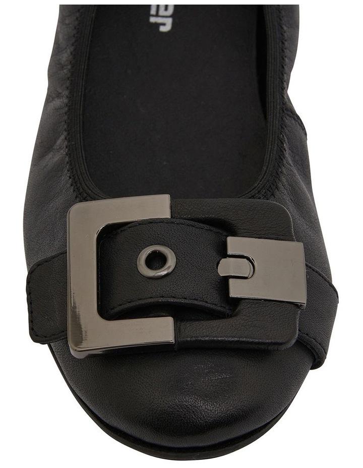 Pentagon Black Glove Flat Shoes image 7