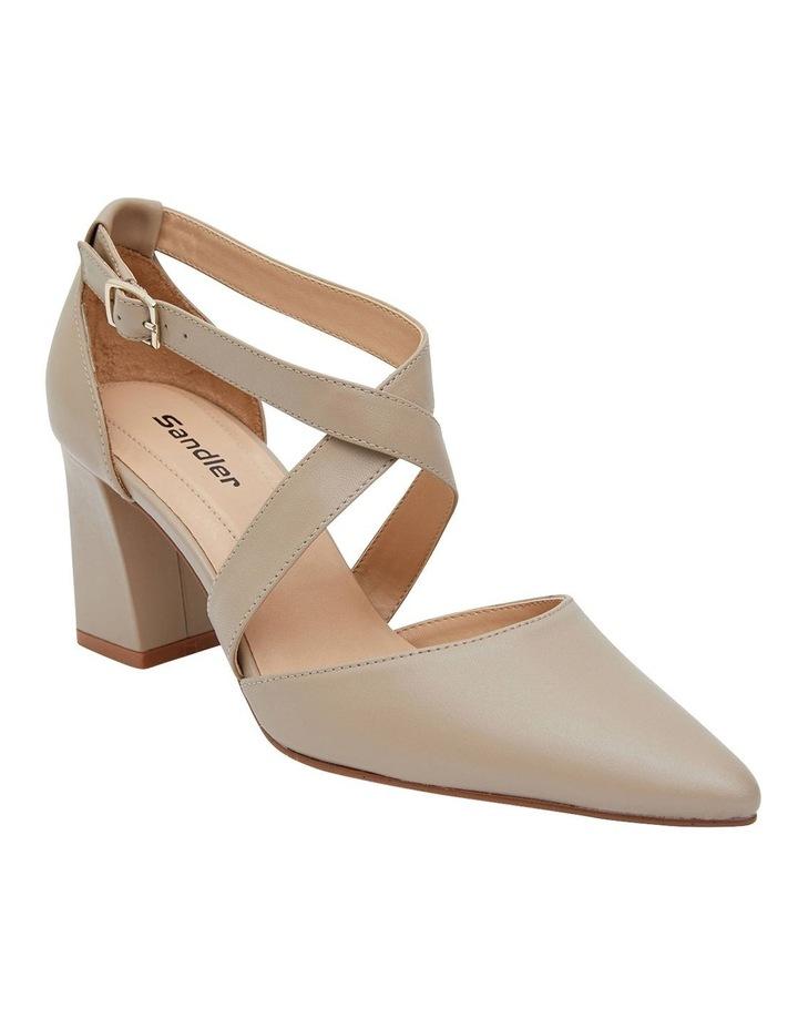 Kara Nude Glove Heeled Shoes image 2