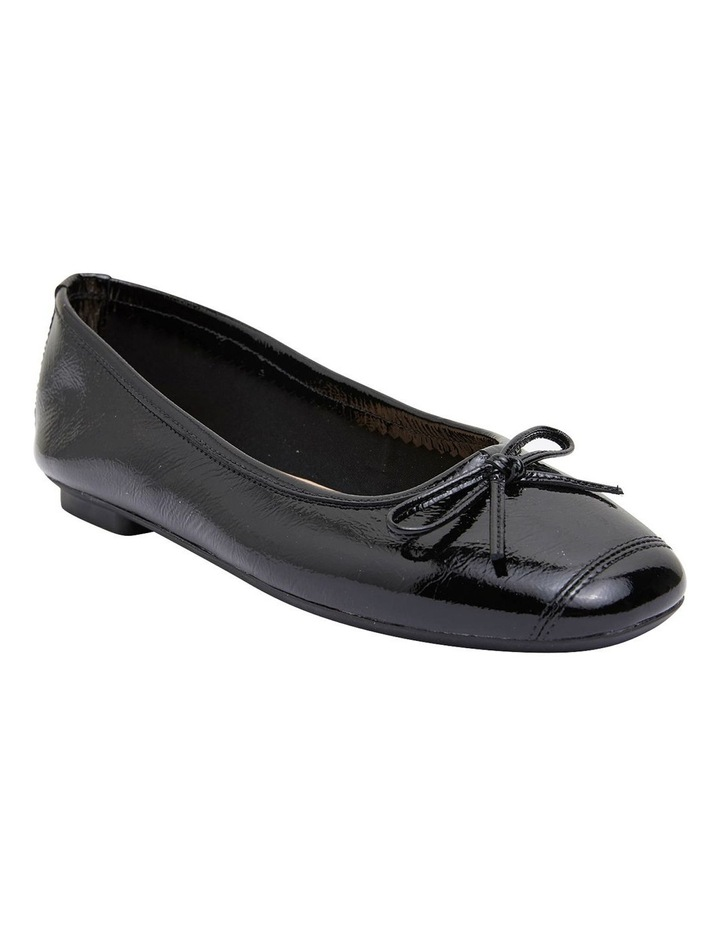 Alexa Black Glove/Softee Flat Shoes image 2