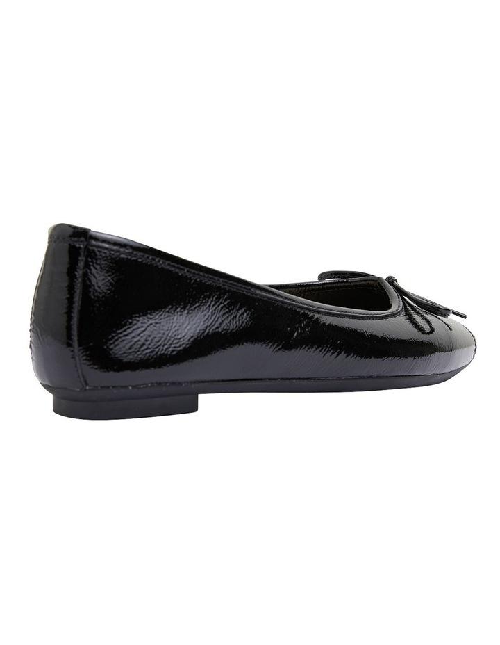Alexa Black Glove/Softee Flat Shoes image 4