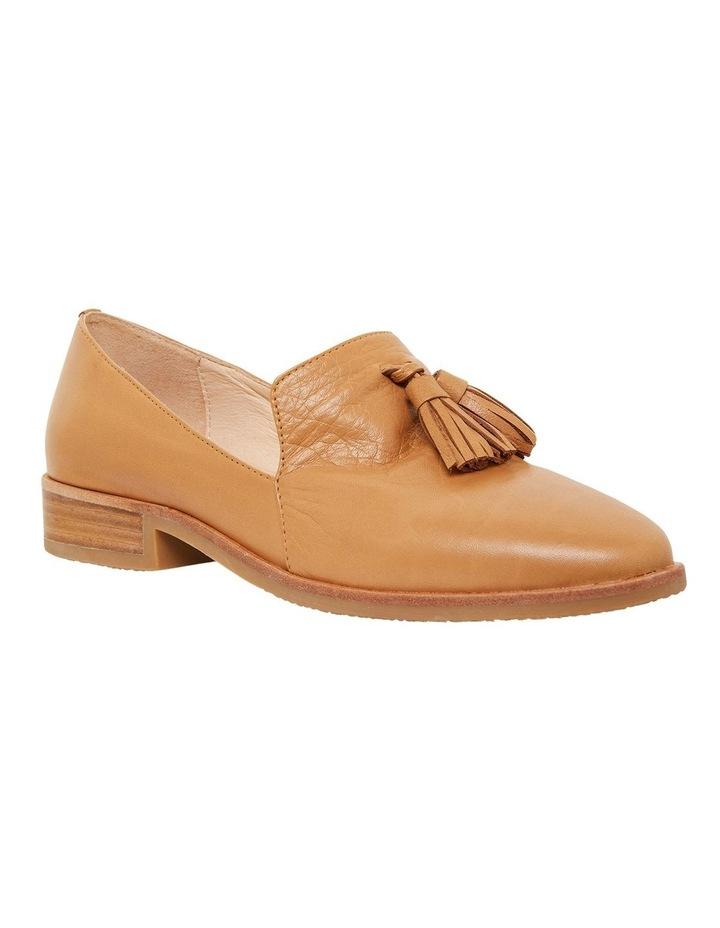 Salvador Cognac Glove Flat Shoes image 2