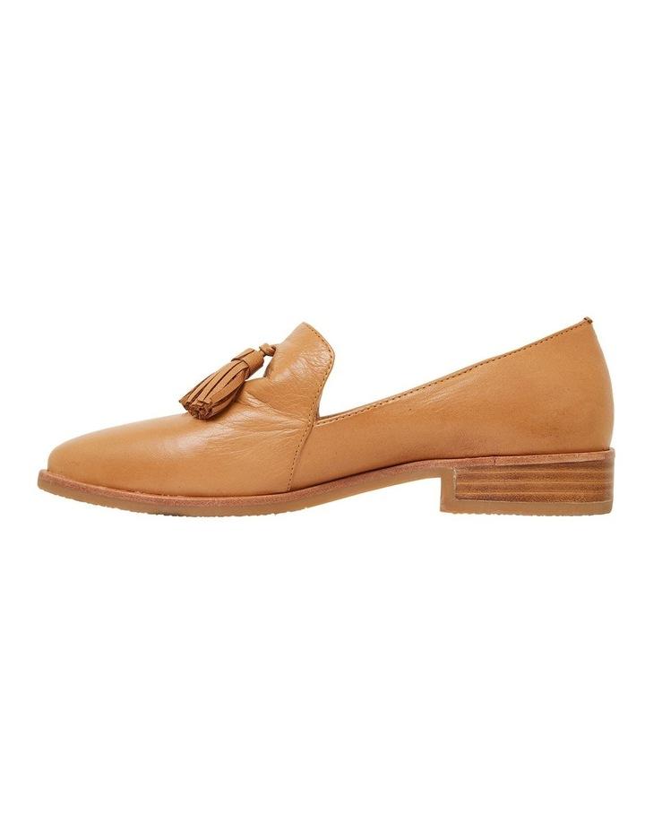 Salvador Cognac Glove Flat Shoes image 3