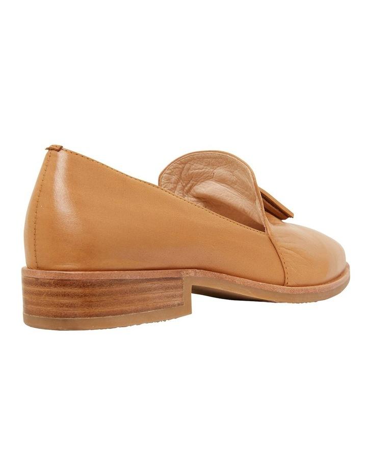 Salvador Cognac Glove Flat Shoes image 4