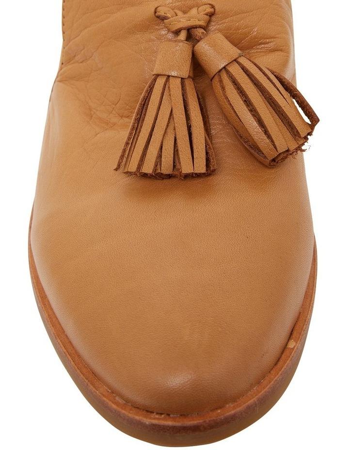Salvador Cognac Glove Flat Shoes image 5