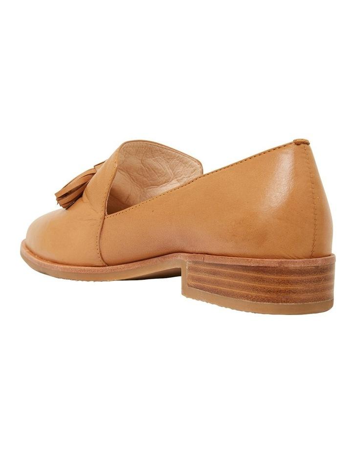 Salvador Cognac Glove Flat Shoes image 6