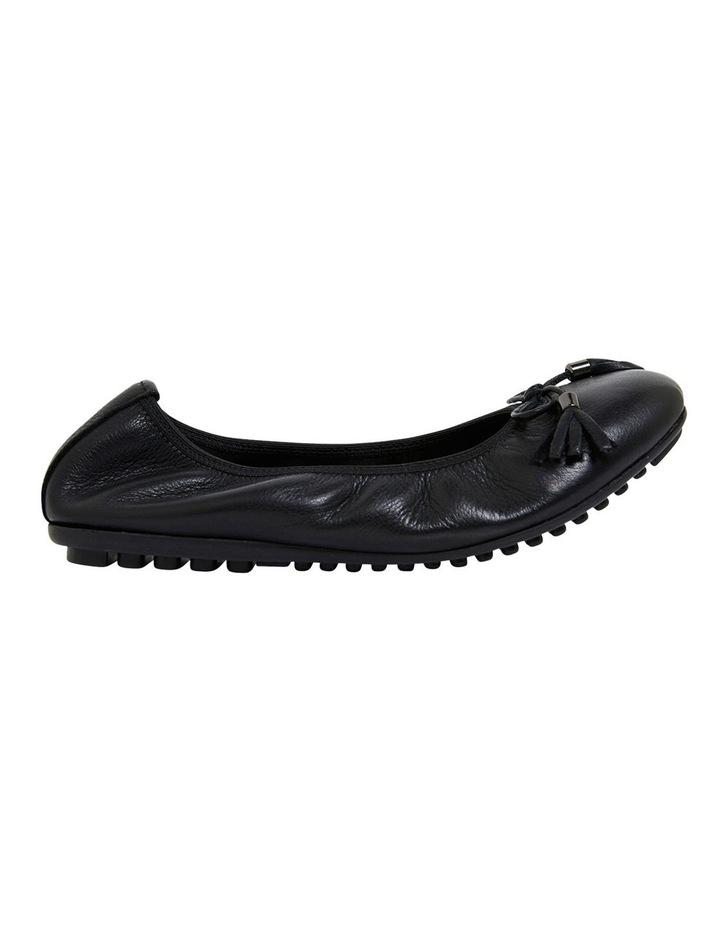 Prima Black Glove Flat Shoes image 1