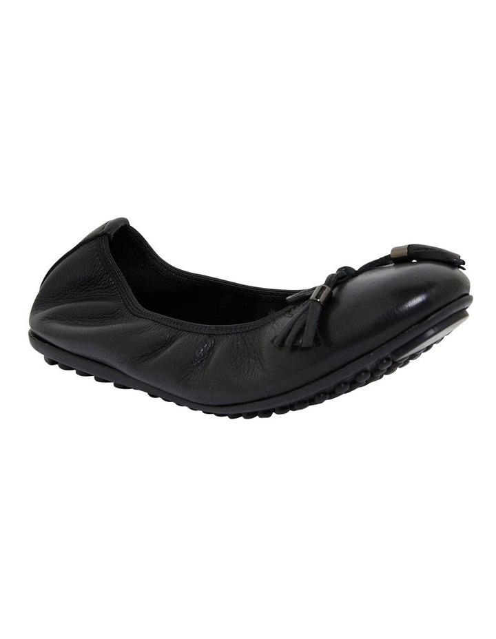 Prima Black Glove Flat Shoes image 2