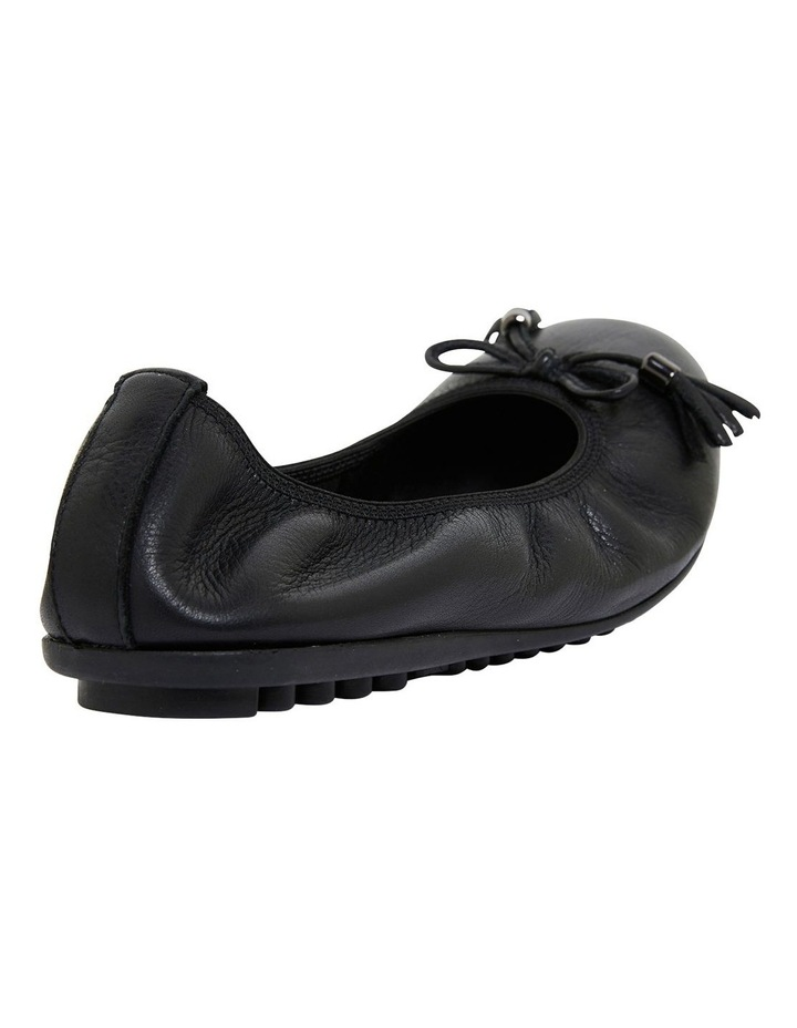 Prima Black Glove Flat Shoes image 4