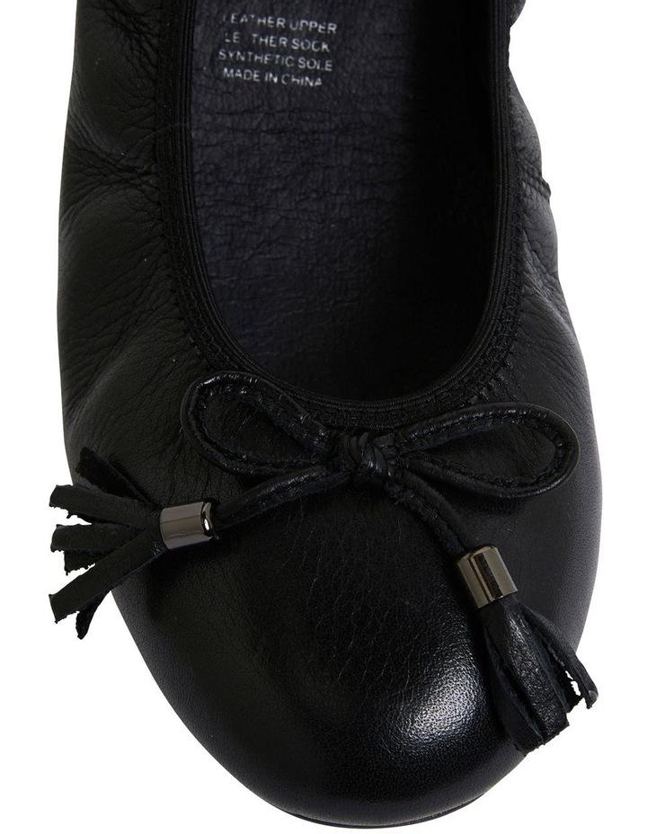 Prima Black Glove Flat Shoes image 5