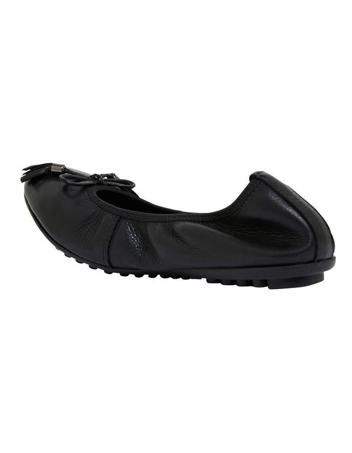 Prima Black Glove Flat Shoes image 6