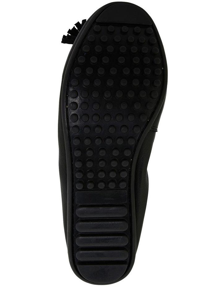 Prima Black Glove Flat Shoes image 7