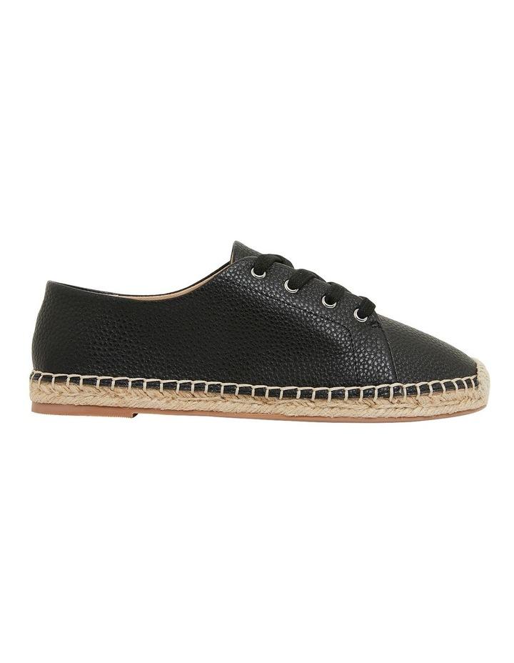 Bayside Black Smooth Flat Shoes image 1