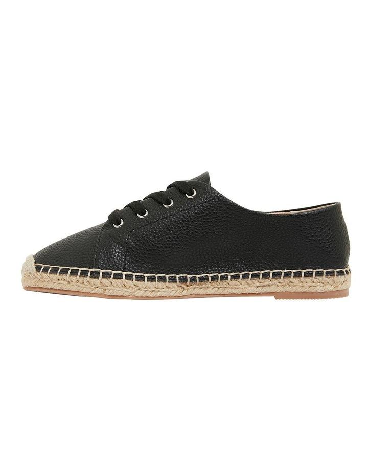 Bayside Black Smooth Flat Shoes image 3