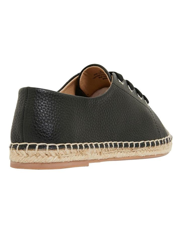 Bayside Black Smooth Flat Shoes image 4