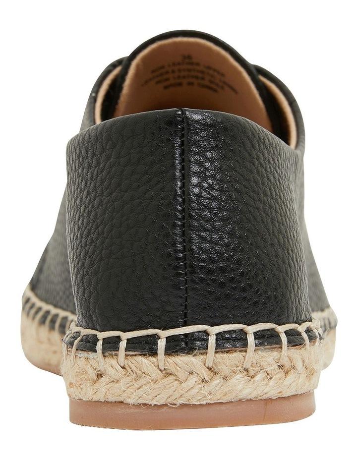 Bayside Black Smooth Flat Shoes image 5