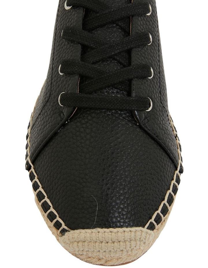 Bayside Black Smooth Flat Shoes image 6