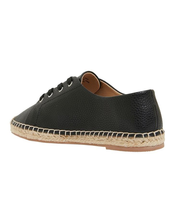 Bayside Black Smooth Flat Shoes image 7