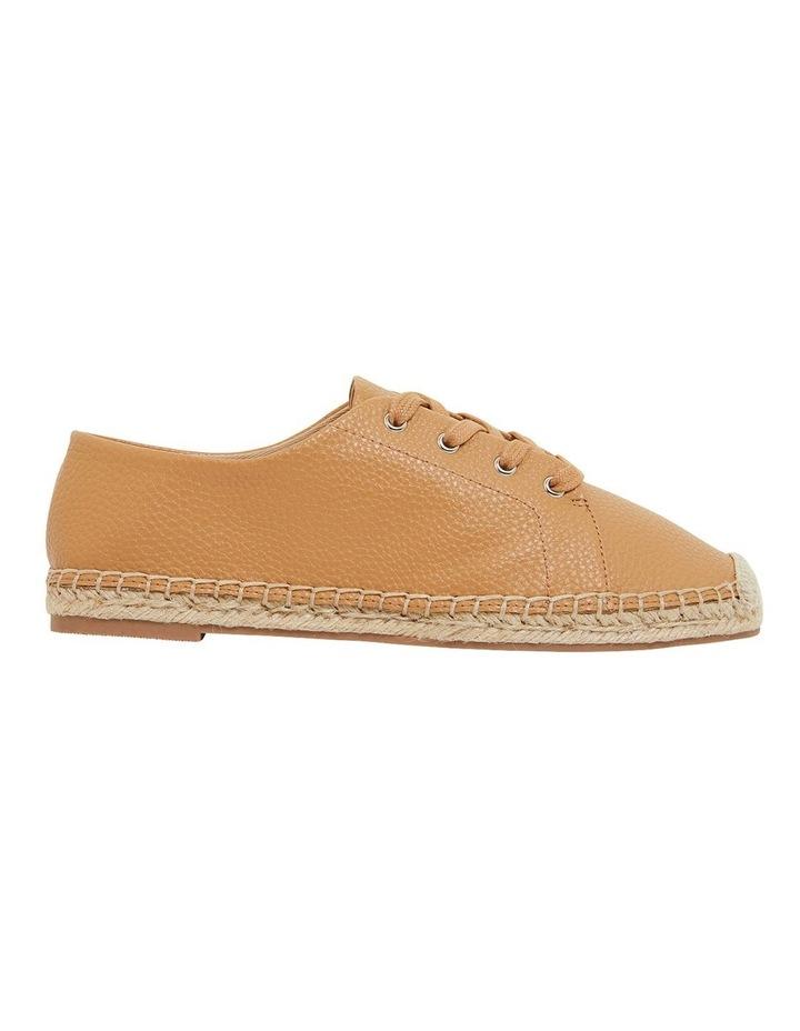 Bayside Tan Smooth Flat Shoes image 1