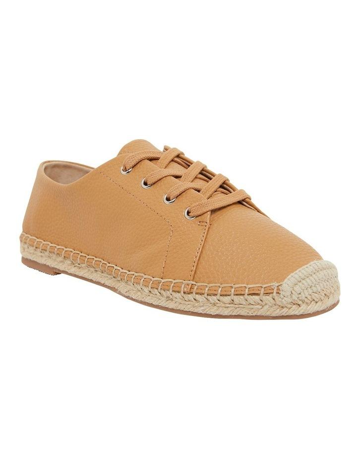 Bayside Tan Smooth Flat Shoes image 2