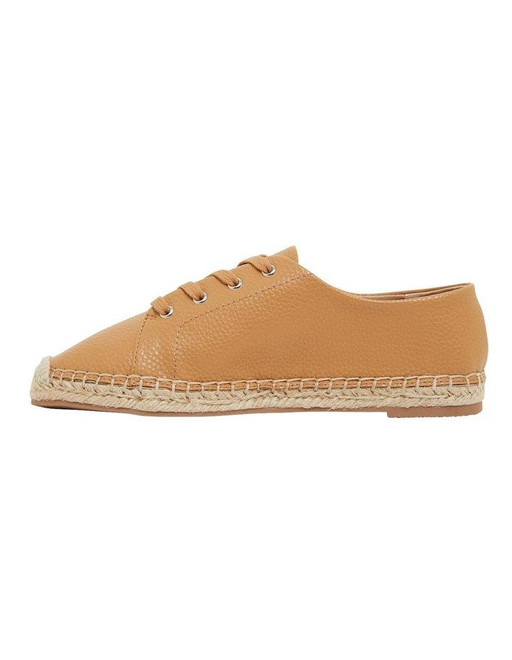 Bayside Tan Smooth Flat Shoes image 3