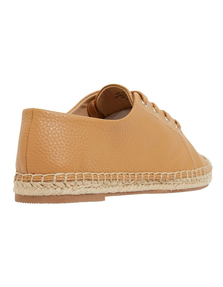 Bayside Tan Smooth Flat Shoes image 4
