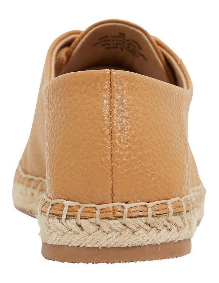 Bayside Tan Smooth Flat Shoes image 5