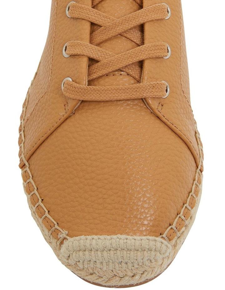 Bayside Tan Smooth Flat Shoes image 6