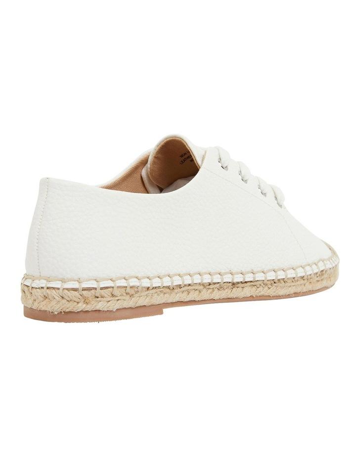 Bayside White Smooth Flat Shoes image 4