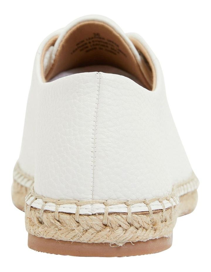 Bayside White Smooth Flat Shoes image 5