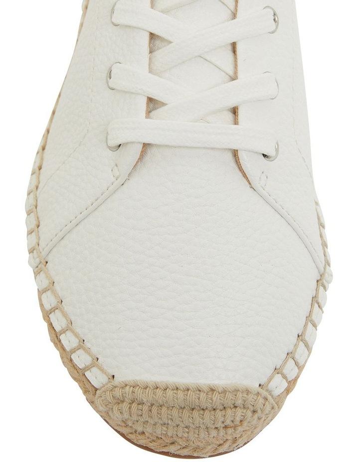 Bayside White Smooth Flat Shoes image 6