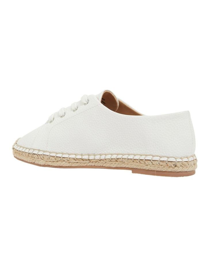 Bayside White Smooth Flat Shoes image 7