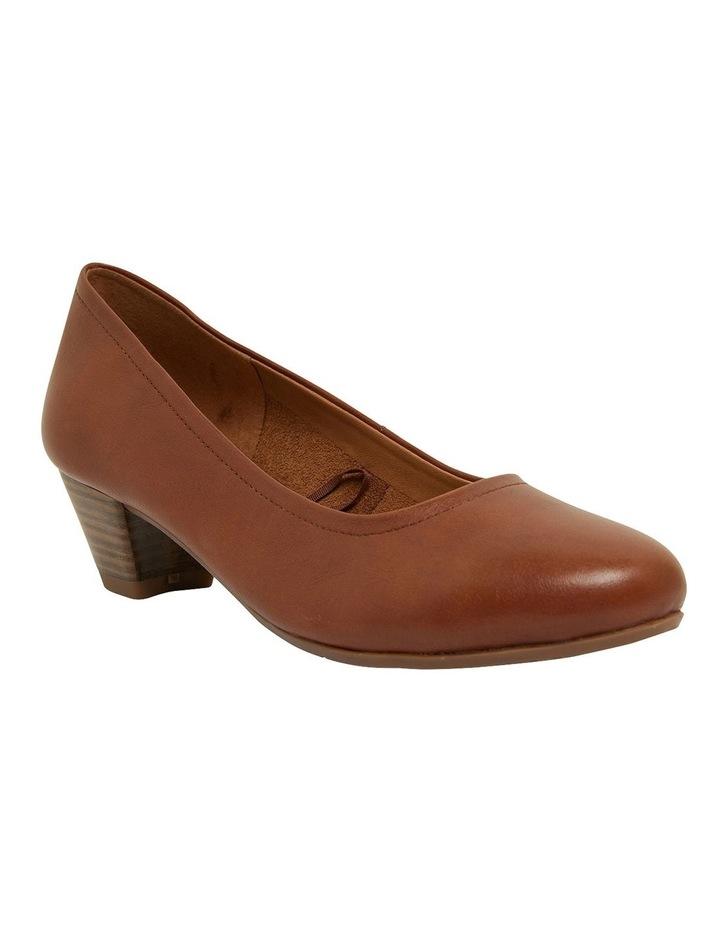 Ollie Cognac Glove Heeled Shoes image 2