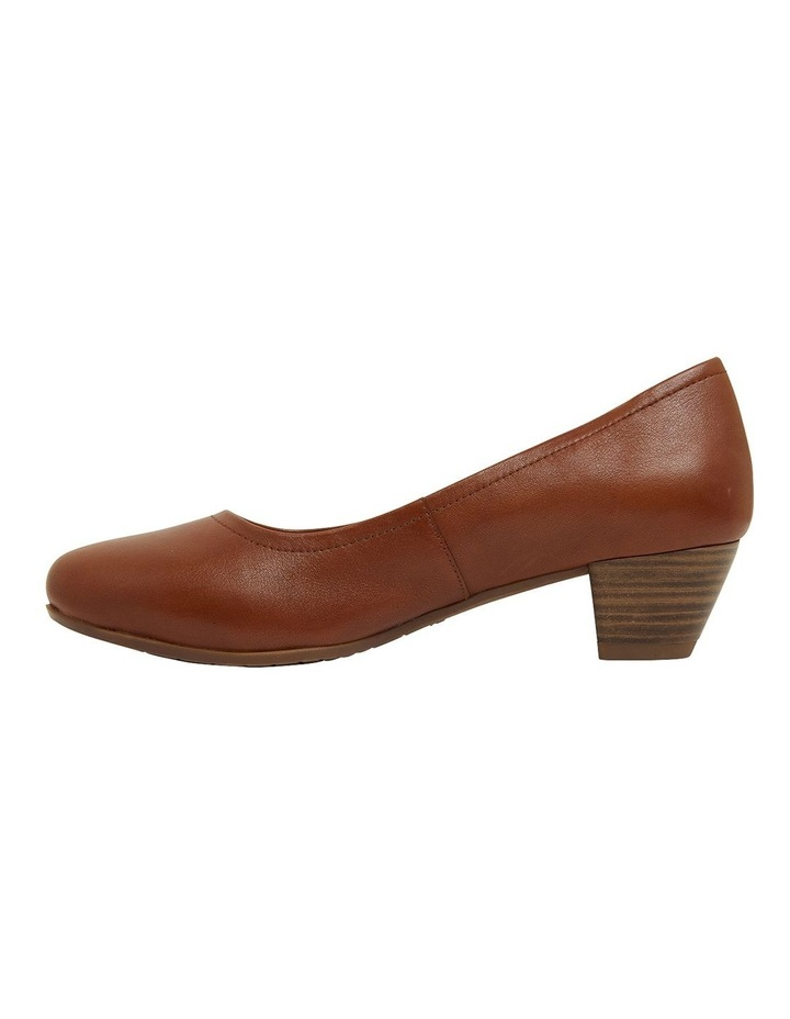 Ollie Cognac Glove Heeled Shoes image 3