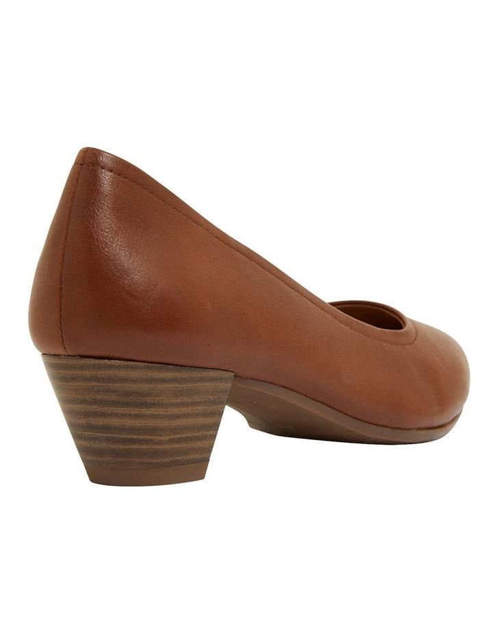 Ollie Cognac Glove Heeled Shoes image 4