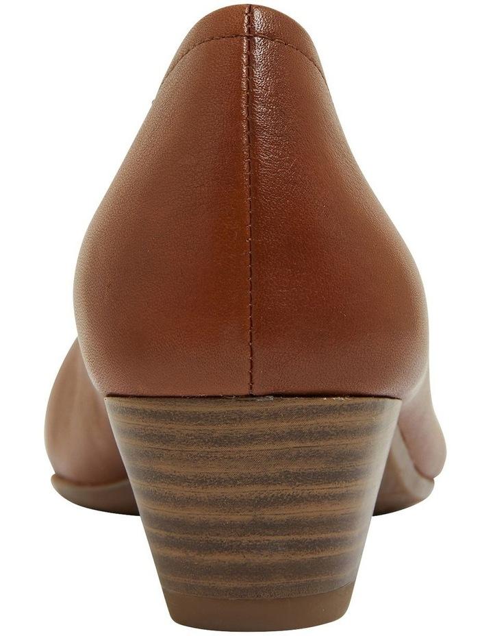 Ollie Cognac Glove Heeled Shoes image 5