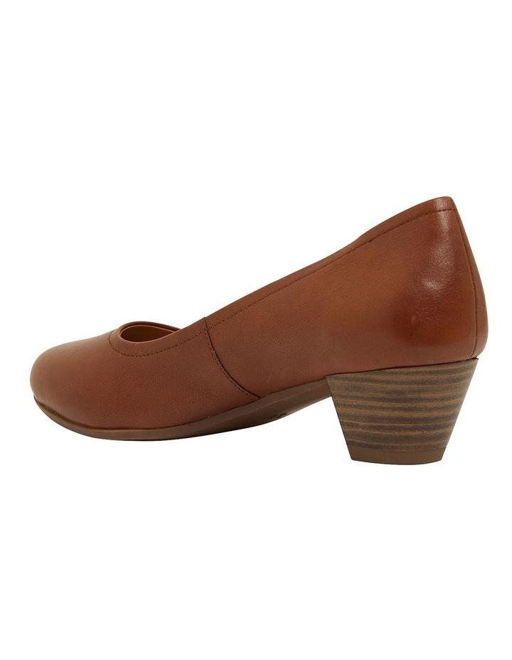 Ollie Cognac Glove Heeled Shoes image 6