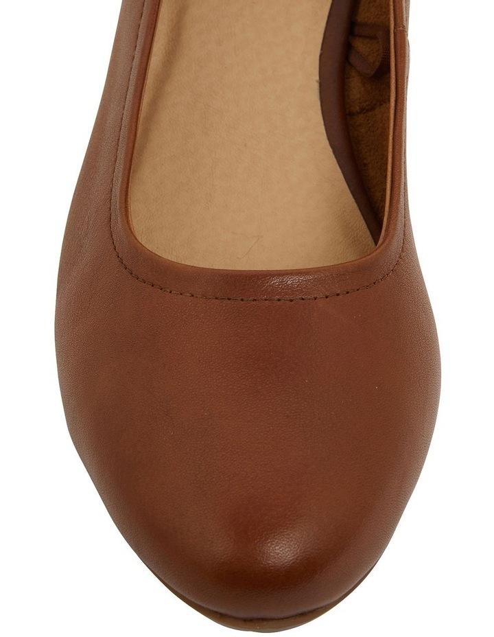 Ollie Cognac Glove Heeled Shoes image 7