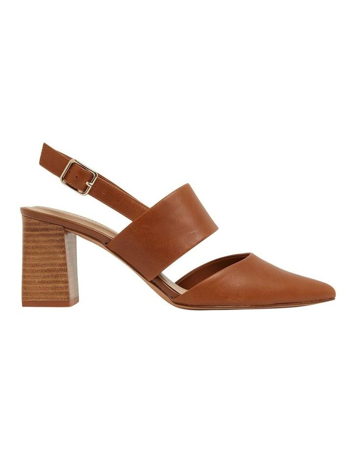 Kitson Cognac Glove Heeled Shoes image 1