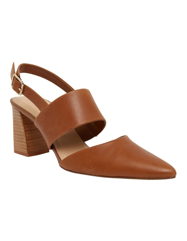 Kitson Cognac Glove Heeled Shoes image 2