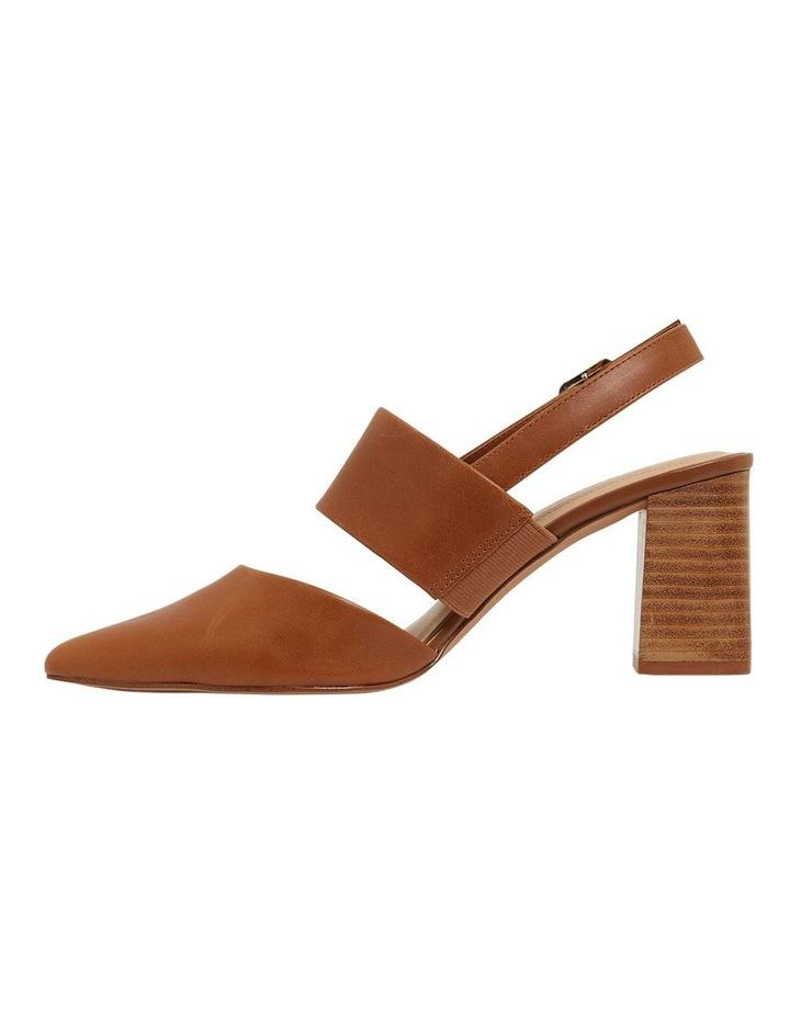 Kitson Cognac Glove Heeled Shoes image 3