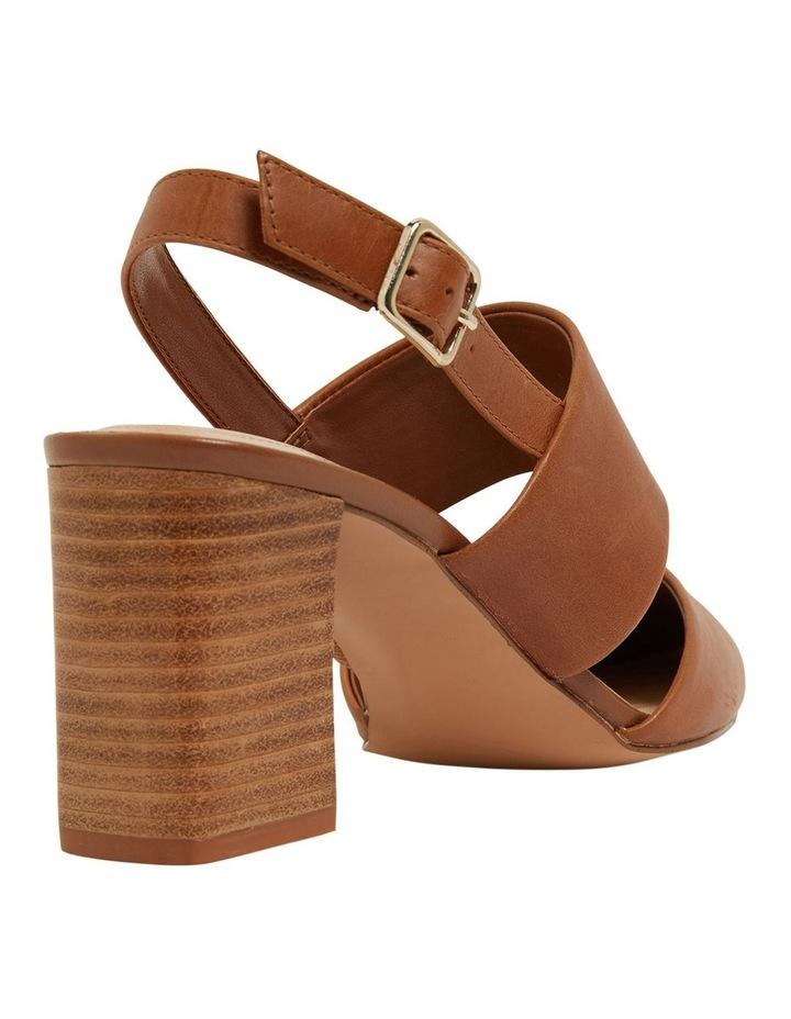 Kitson Cognac Glove Heeled Shoes image 4